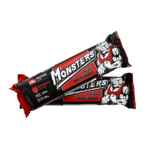 Monsters – батончик протеїновий зі смаком полуниці
