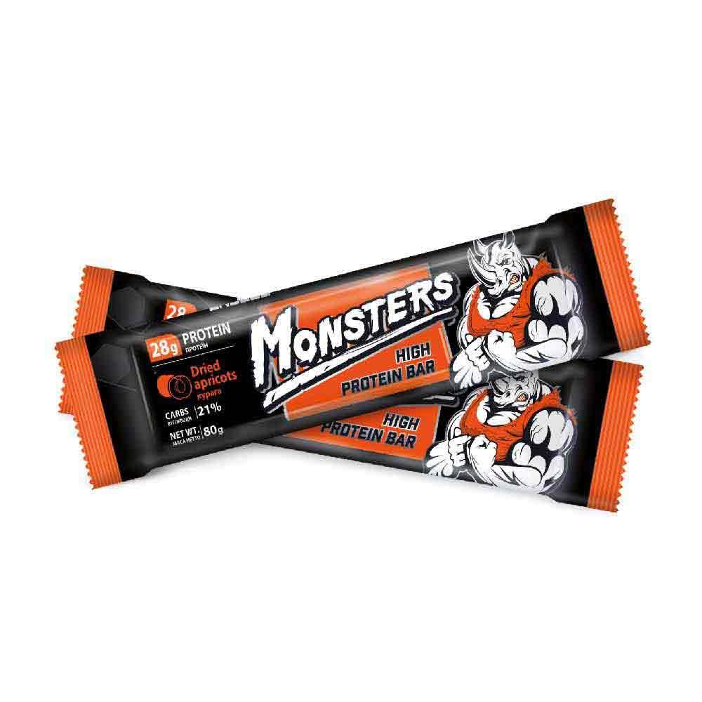 Monsters – батончик протеиновый со вкусом кураги
