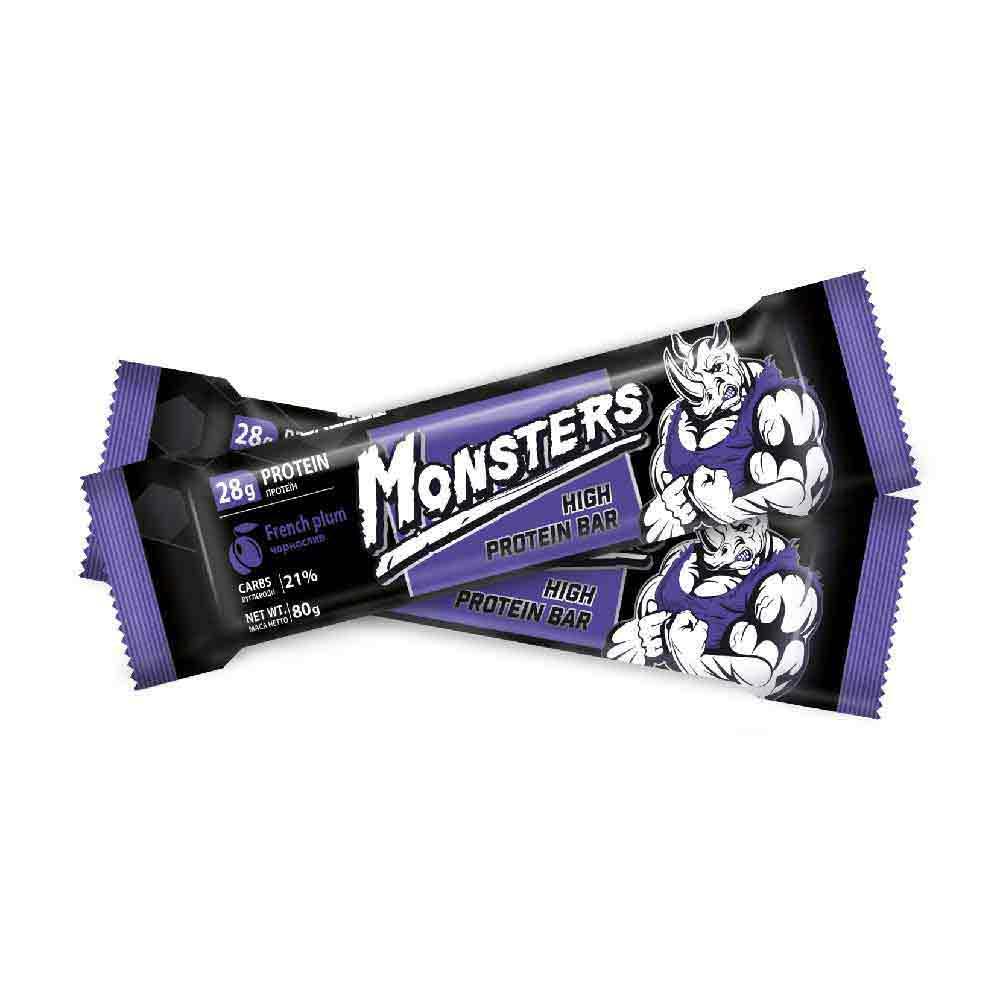 Monsters – батончик протеиновый со вкусом чернослива