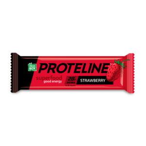 PROTELINE - протеиновый батончик со вкусом клубники